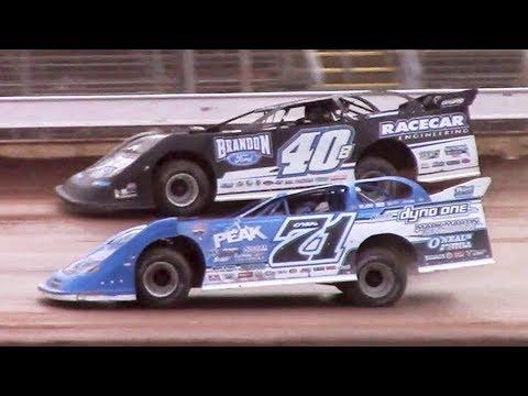 Lucas Oil Late Model Dirt Series B-Main | Sharon Speedway | 7-2-18