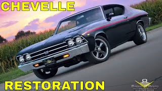 1969 Chevelle SS396 / 454 Street Machine Restoration Video Feature V8TV
