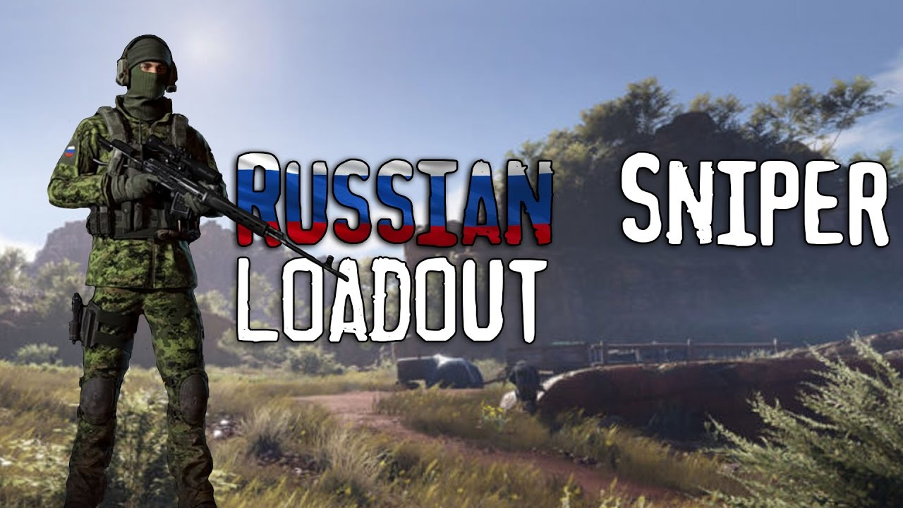ghost recon wildlands russian inspired sniper loadout