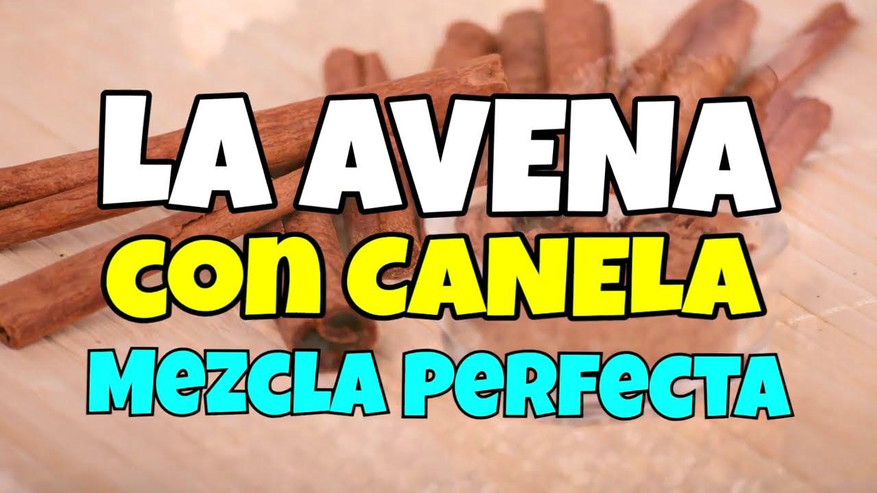 👉 La AVENA Con Canela Una Mezcla Perfecta 😋 RICA Y SALUDABLE