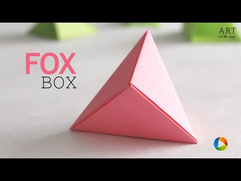 Origami Star Box (traditional model) - YouTube | 360x480