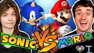 A BATALHA DO SÉCULO! Mario vs. Sonic - Aventuras Epicamente Épicas