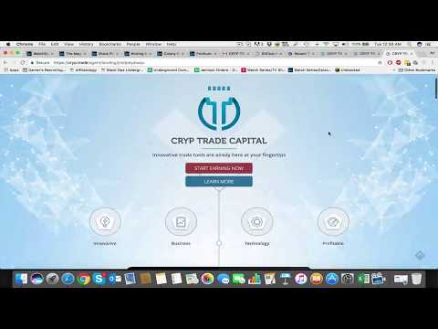 How to set up and fund your CrypTrade account I Cryptocurrency trading Bitcoin Ethereum
