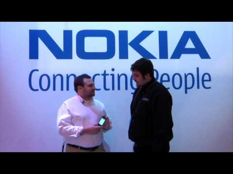 Nokia 5800 Review at CES 2010