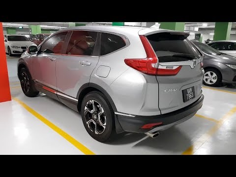 2018 Honda CR V 1.5 Turbo AWD Driving Review | Evomalaysia.com