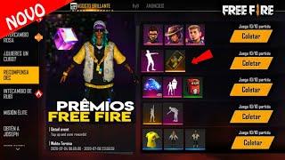 CHEGOU! EMOTE Cachorro dançando funk de GRAÇA por login? Novo passe de elite e mais no free fire!