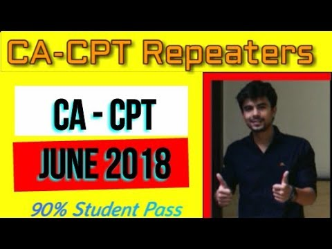 CPT Repeaters June 2018   What if you Fail in Dec 2017   Maths Study Material for CPT   CPT Maths