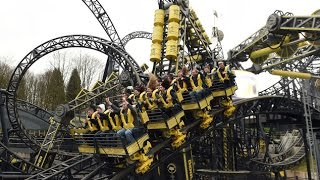 Video Alton Towers The Smiler off ride download MP3, 3GP, MP4, WEBM, AVI, FLV November 2017
