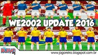 Winning Eleven 2002 UPDATE 1.3 (2016) no Playstation 1 / PS1