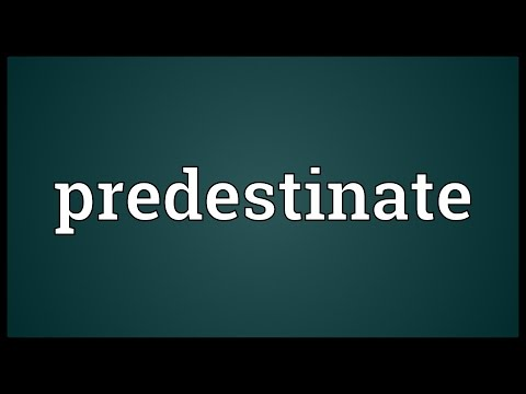 Header of predestinate