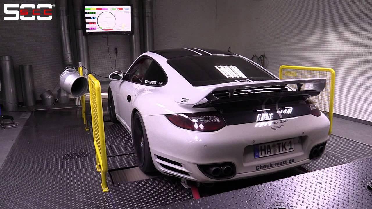Scc500 Porsche 997 Turbo S 9ff Rsr Capristo Exhaust