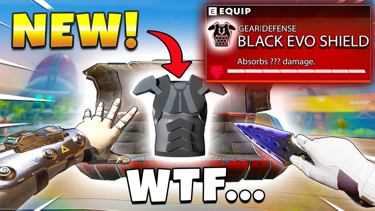 *LEAKED* NEW BLACK EVO ARMOUR FOUND IN APEX! - Top Apex Plays, Funny & Epic Moments #712