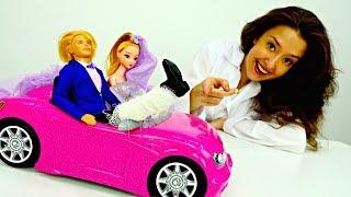 Игры с БАРБИ - Куклы устроили девичник - Видео для девочек