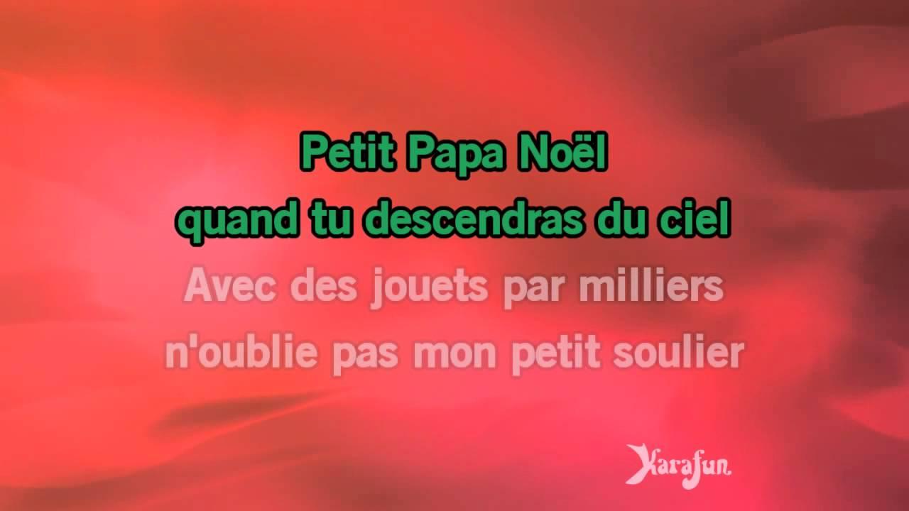 Karaoké Petit Papa Noel Karaoké Petit Papa Noël   Roch Voisine *   YouTube