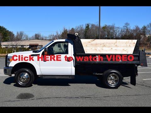 2011 Ford F350 Dump Truck 6.2L Triton Gas 50K-MILES