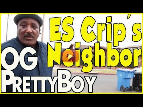 OG Pretty Boy visits his old home on the eastside of LA next to Raymond Washington's house (pt.1of2)