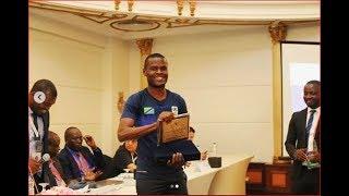 Tanzania yapokea tuzo ya CAF kwenye AFCON 2019, Ndugai atembelea kambi thumbnail