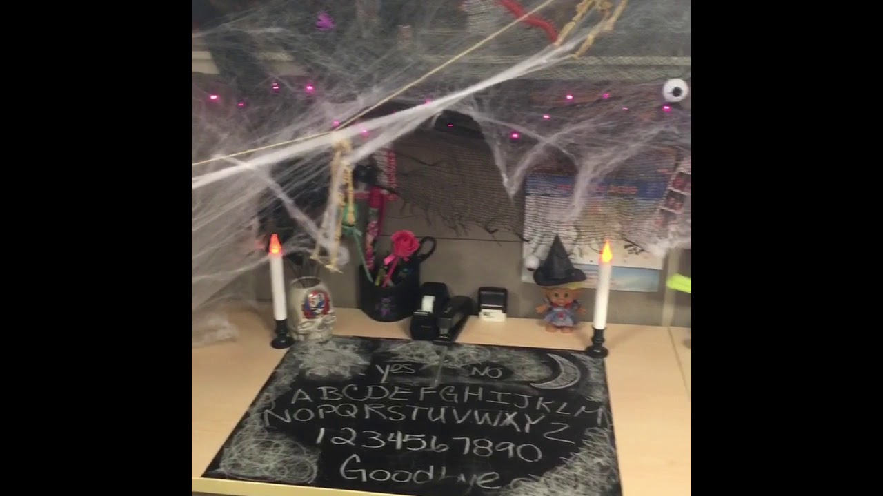 halloween office decorating contest 2016 - youtube