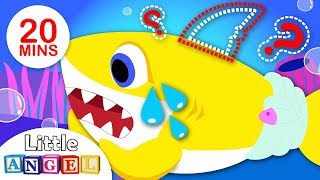 Baby Shark: Where is my Fin? | Johny Johny Yes Papa |Princess Songs | Rhymes by Little Angel