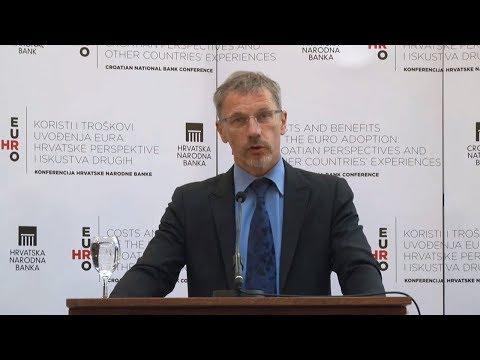Guverner Vujčić O Procesu Uvođenja Eura U Hrvatskoj Youtube