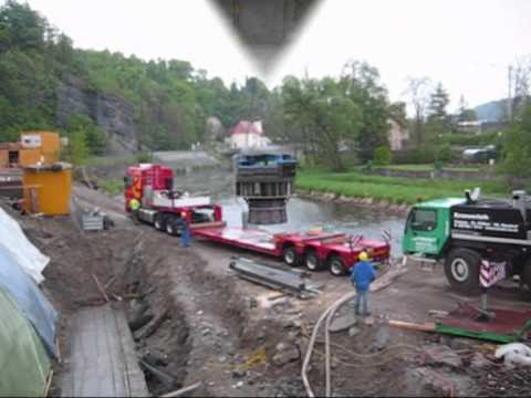 Kaplan turbine delivery