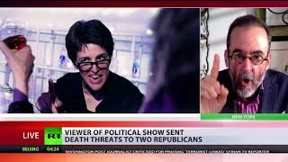 'We're losing our minds': Viewer of political show sent death threats to 2 Republicans