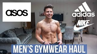 HUGE Men's Asos Gym Clothes Haul & Try-On | Summer 2019 (Nike, Adidas & New Balance)