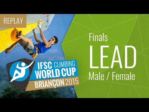 IFSC Climbing World Cup Briançon 2015 - Lead - Finals - Male/Female