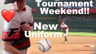 Finally New Uniforms and Back To Baseball Tournaments!!