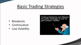 Basic Stock Market Investing Strategies:  Breakouts, Pullbacks and Bollinger Bands