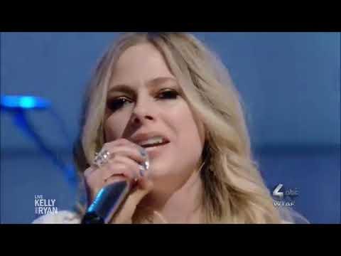 "Avril Lavigne Sings ""Head Above Water"" Live Studio Concert  2019 HD 1080p"