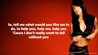 Aaliyah - Enough Said Lyrics Video
