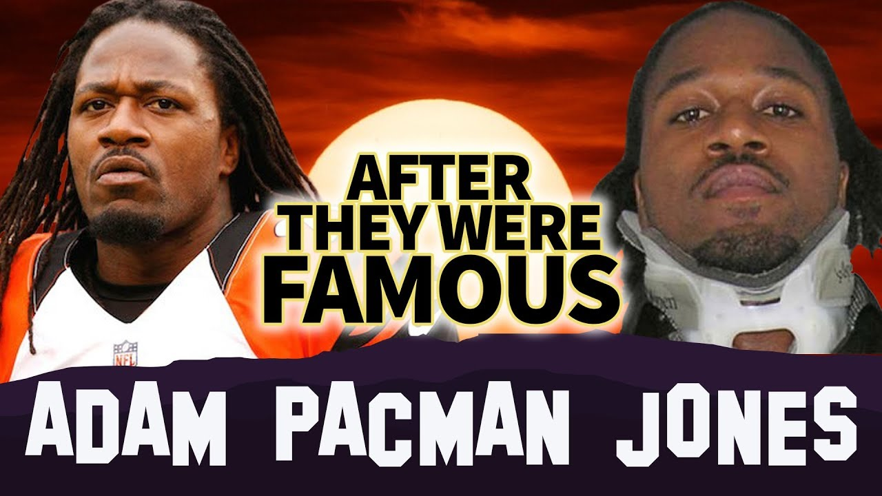 ADAM PACMAN JONES   AFTER They Were Famous   Airport Fight
