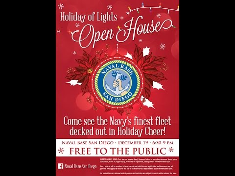 Naval Base San Diego Holiday of Lights 2014