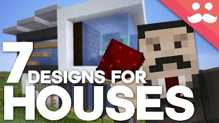7 Contraptions for REDSTONE HOUSES!