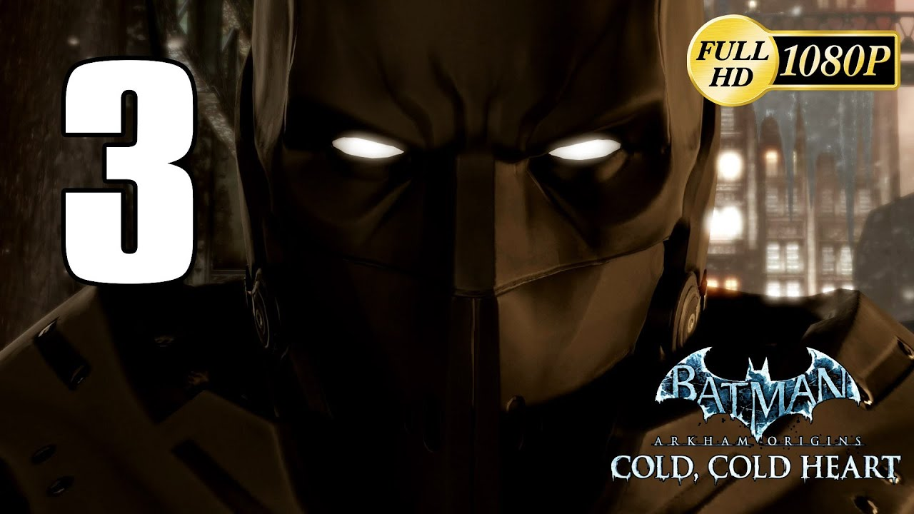 Batman Arkham Origins Cold Heart DLC Walkthrough Parte 3 Gameplay Espanol New Batsuit