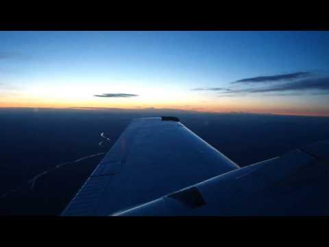 Flying Home in a Beechcraft Baron 58! IGX-JYO