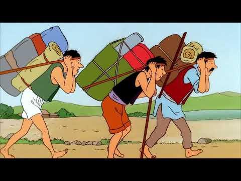 TinTin Season 2 - Episode 06   Tintin in Tibet, Pt  1
