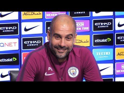 Pep Guardiola Full Pre-Match Press Conference - Manchester City v Burnley - Premier League