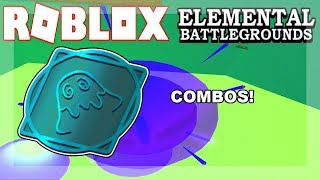 5 TYPE OF SLIME COMBOS! | Roblox Elemental Battleground