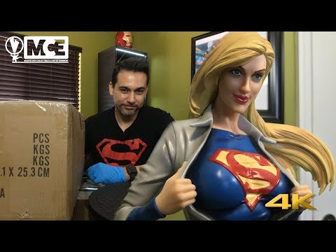 Supergirl Xtreem Sculptures UNBOXING and REVIEW