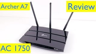 TP-Link AC1750 Smart WiFi Router Setup and Review - Archer A7