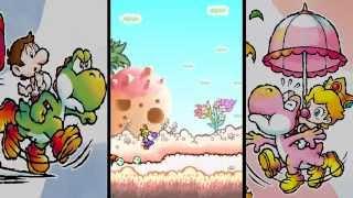 Slim Plays Yoshi's Island DS - #3. Baby Peach Takes Flight