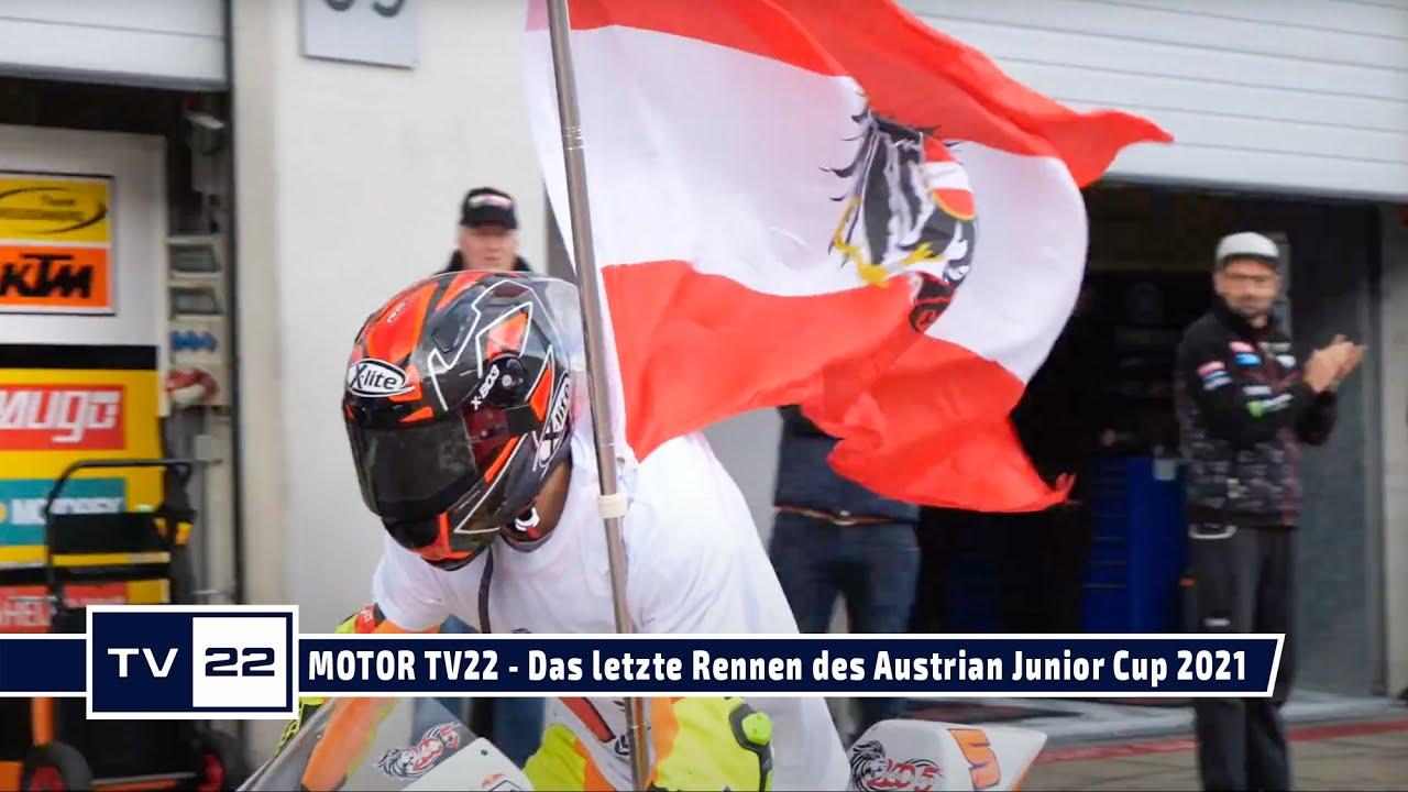 MOTOR TV22: Das letzte Rennen des Austrian Junior Cup am Red Bull Ring - Interviews nach dem Rennen