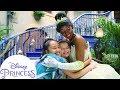 Asking Tiana Questions at Disneyland! | Disney Princess