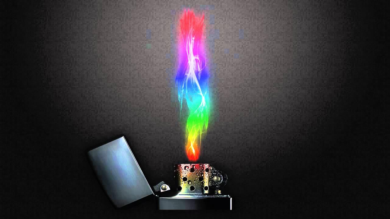 Rainbow Lighter Wallpaper