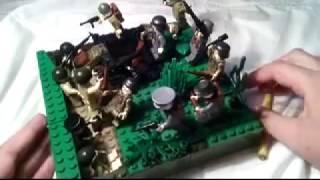 Лего-самоделка на тему Великой Отечественной войны №1.