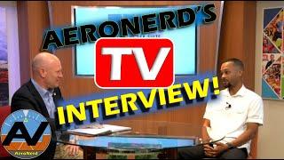 AeroNerd's TV Interview!