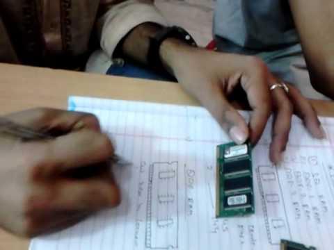Identification of Laptop RAM . laptop repairing course in hindi language  in kathmandu j
