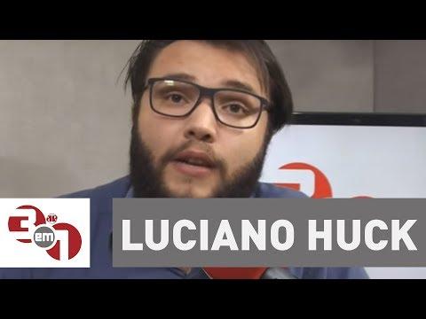 Em Artigo Na Folha, Luciano Huck Anuncia Que Não é Candidato A Presidente